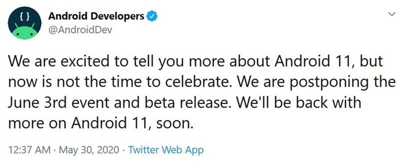تأخیر در ارائه Android 11 به دلیل اعتراضات سراسری آمریکا