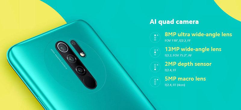 Redmi 9 ارزانقیمت 150 یورویی با Helio G80