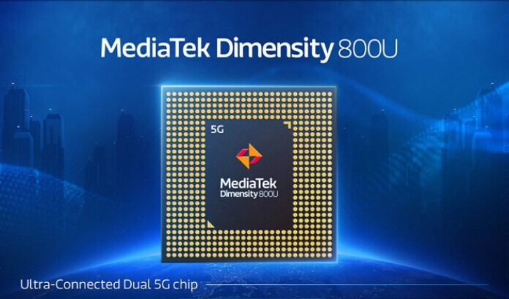Dimensity 800U پروسسور 5G جدید شرکت مدیاتک