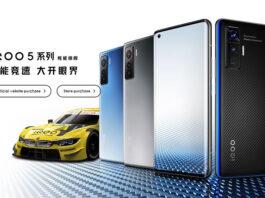 معرفی iQOO 5 و iQOO 5 Pro با پنلهای 120 هرتزی و SD865
