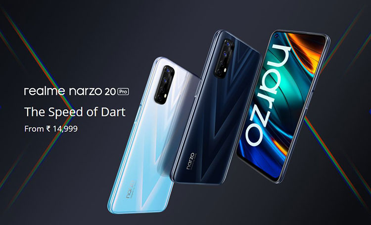معرفی خانواده Narzo 20 سهگانه جدید Realme