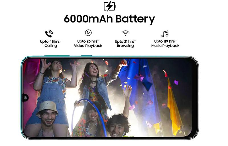 Galaxy F41 با باتری 6,000mAh و دوربین 64 مگاپیکسلی