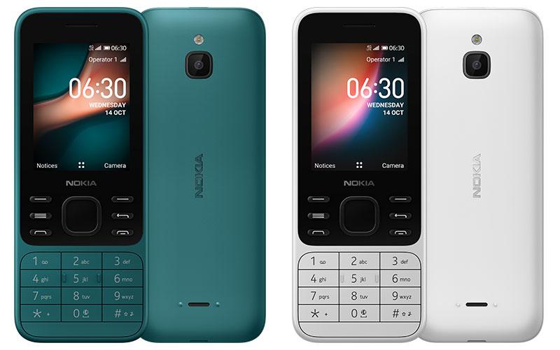 Nokia 6300 4G و Nokia 8000 4G دو گوشی ساده 58 و 93 دلاری!