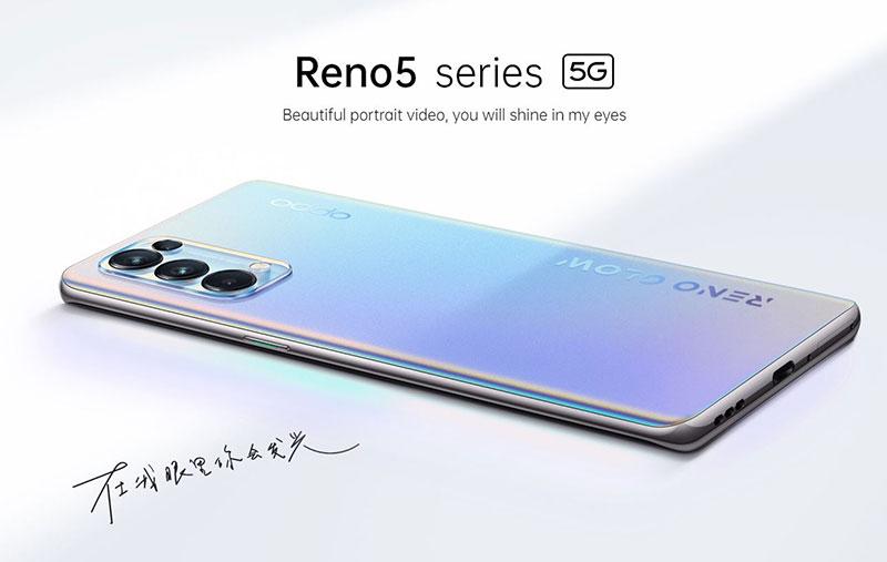 Oppo Reno5 5G و Reno5 Pro 5G آمدند - میانردههای ارزشمند