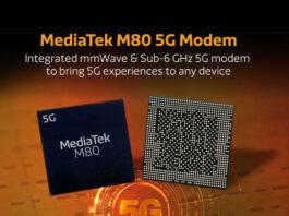 MediaTek M80 مودم 5G با امکان کارکرد در شبکه mmWave