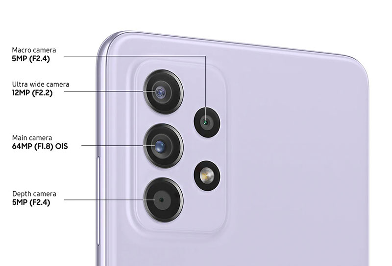 معرفی Galaxy A52 و A52 5G و گلکسی A72