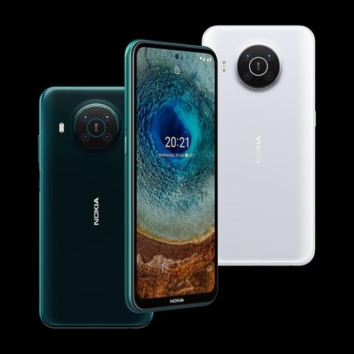 Nokia X20 و Nokia X10 دو 5G میانرده با Snapdragon 480 5G