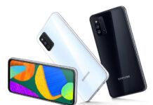 Galaxy F52 5G با پردازنده Snapdragon 750G و پنل 6.6 اینچی