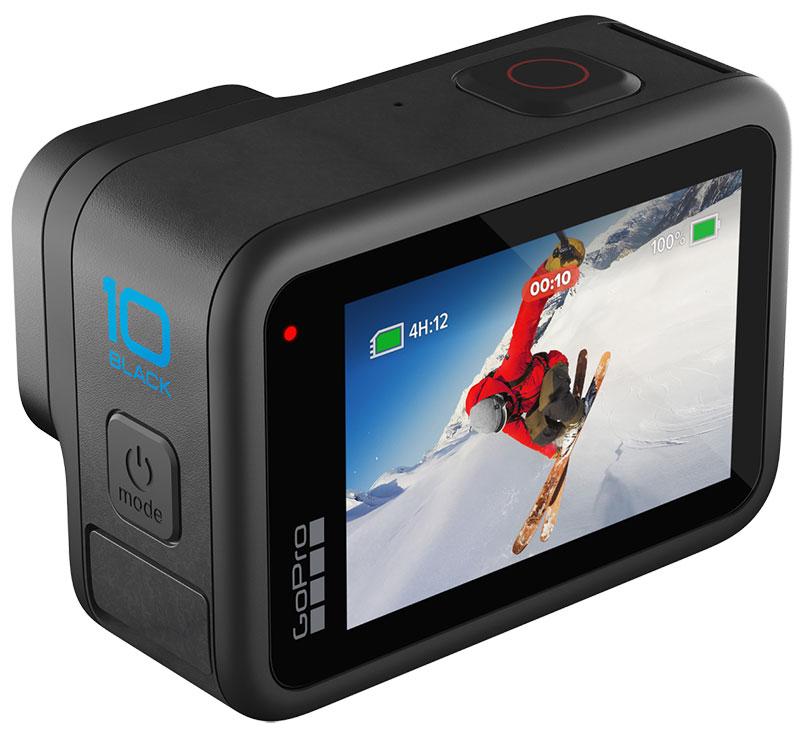 معرفی GoPro Hero10 با فیلمبرداری 5.3K/60fps و قیمت 500 دلاریمعرفی GoPro Hero10 با فیلمبرداری 5.3K/60fps و قیمت 500 دلاری
