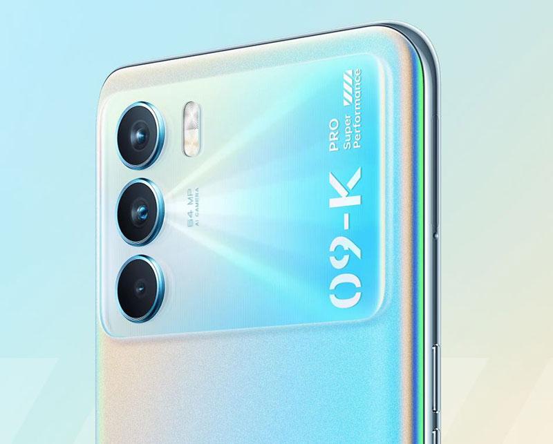 Oppo K9 Pro با نمایشگر 120 هرتزی OLED و شارژر 60 واتی