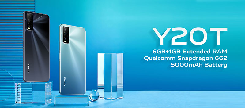 vivo Y20T ارزانقیمت جدید ویوو با پردازنده و رم جدید
